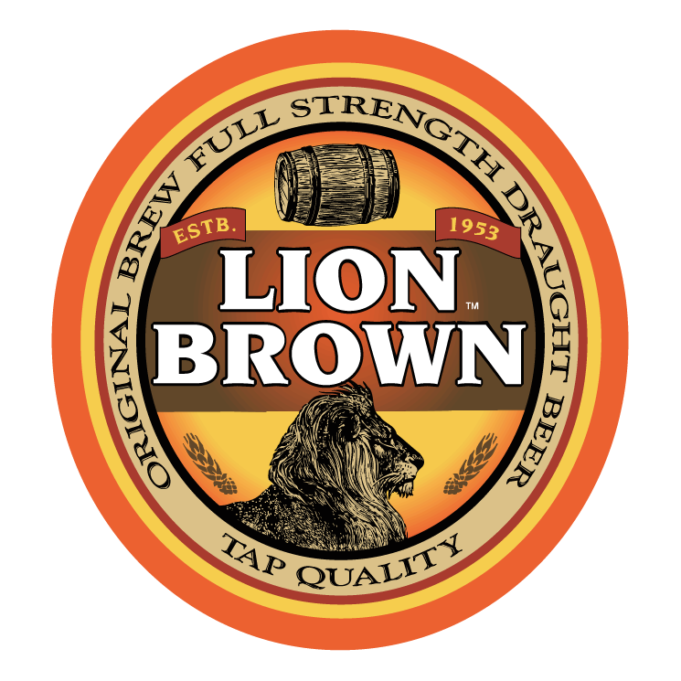 free vector Lion brown