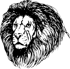 free vector Lion clip art