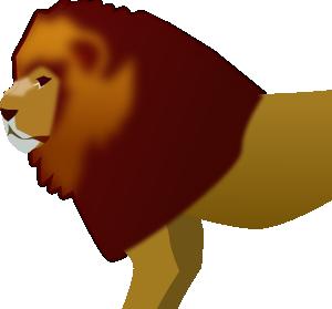 free vector Lion clip art