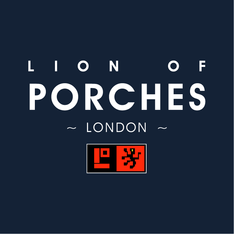 free vector Lion of porches