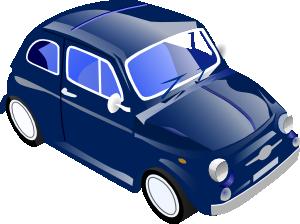 free vector Little Small Car Saves Gas clip art