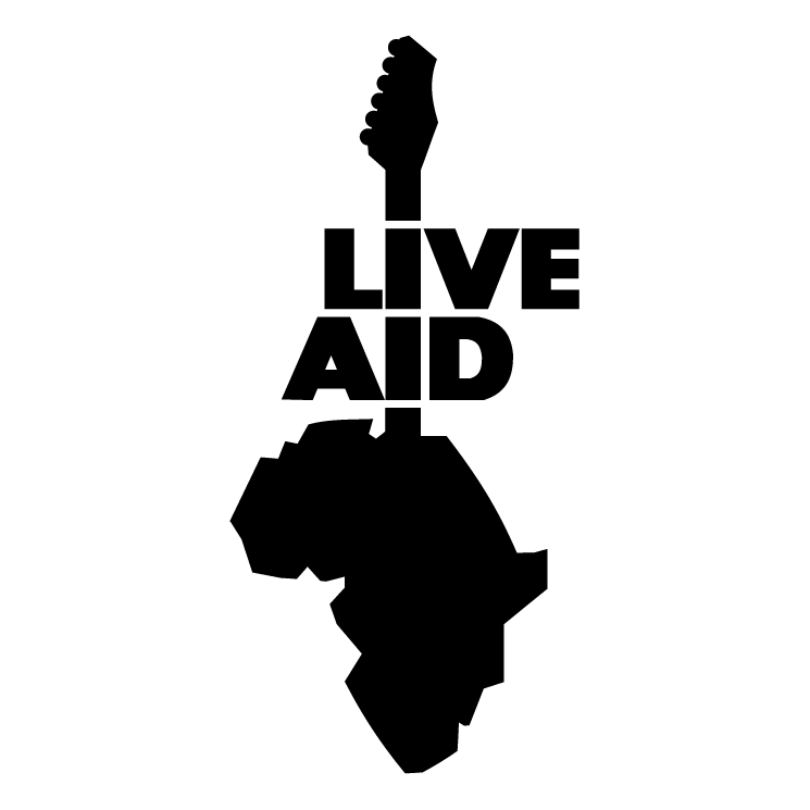 free vector Live aid