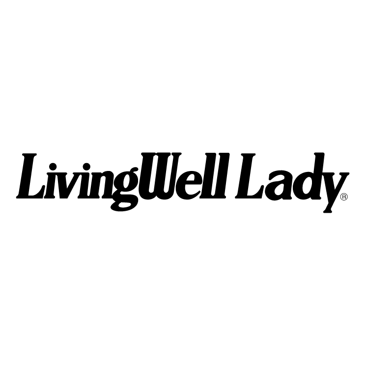 free vector Livingwell lady