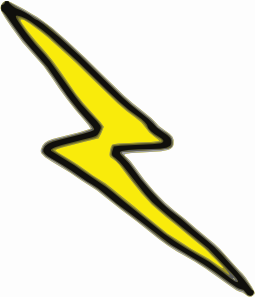 free vector Lnxwalt Cheap Lightning Bolt clip art