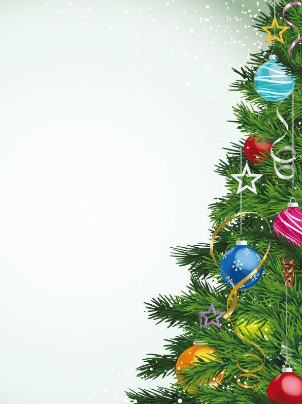 Christmas Tree Vector Free.Local Christmas Tree 25130 Free Eps Download 4 Vector