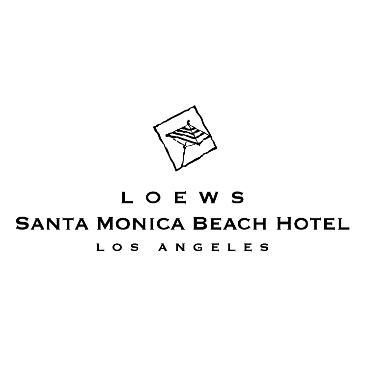 free vector Loews santa monica beach hotel