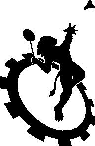free vector Logo Club Badminton Ecole Centrale De Lyon clip art