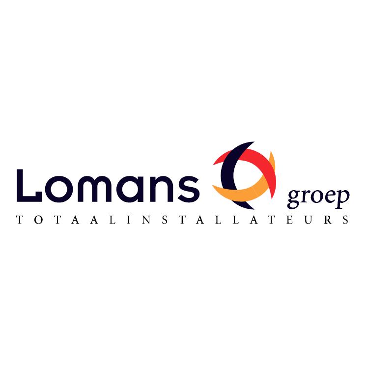 free vector Lomans groep