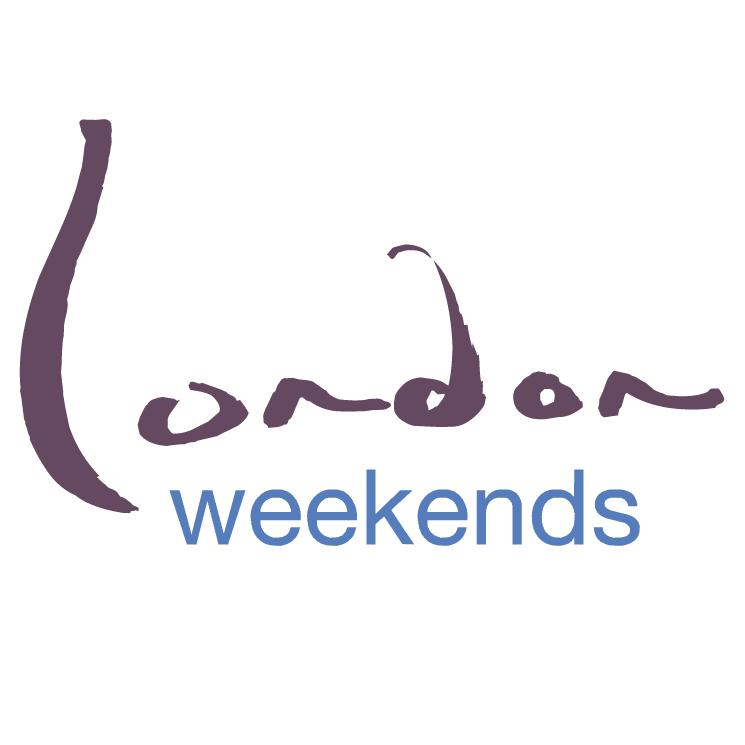 free vector London weekends