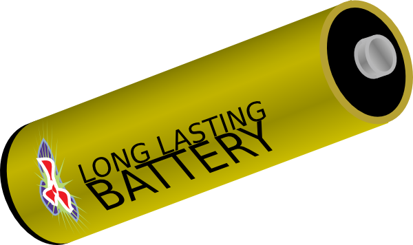 long lasting battery clip art free vector   4vector vector roseville ca vector roseville ca