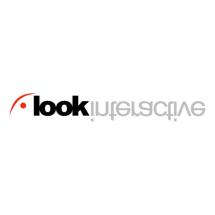 free vector Look interactive