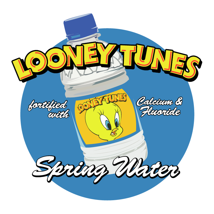 free vector Looney tunes spring water