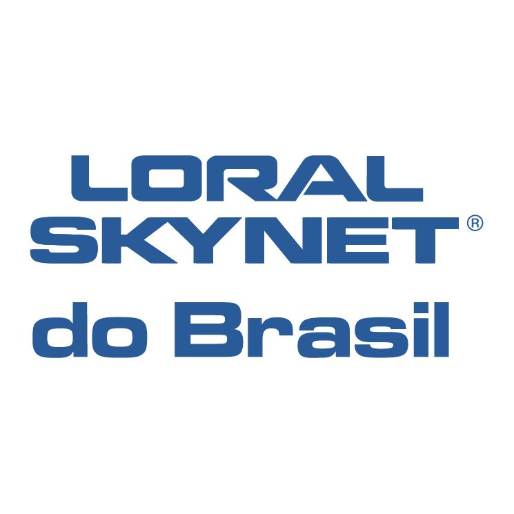 free vector Loral skynet do brasil