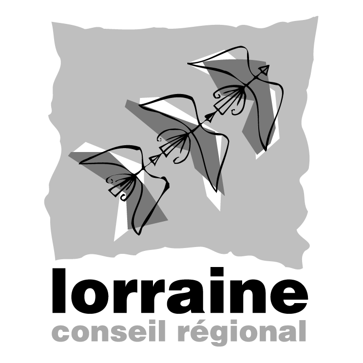 free vector Lorraine conseil regional 0