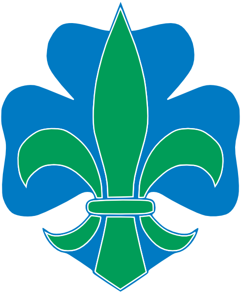 free vector Lotus Flower Blue Gray clip art