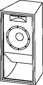 free vector Loudspeaker clip art