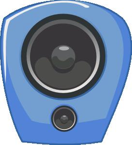 free vector Loudspeaker In Comic Style clip art