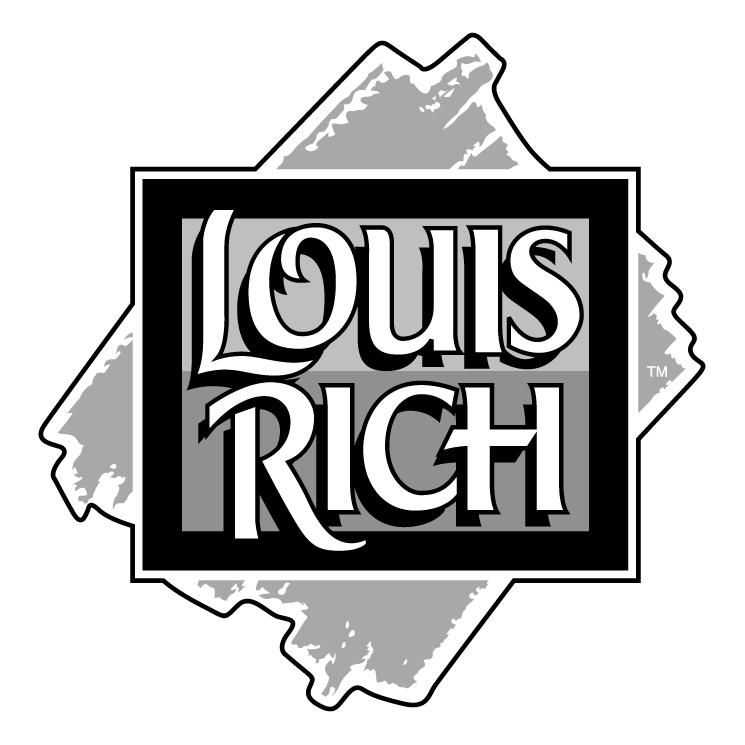 free vector Louis rich