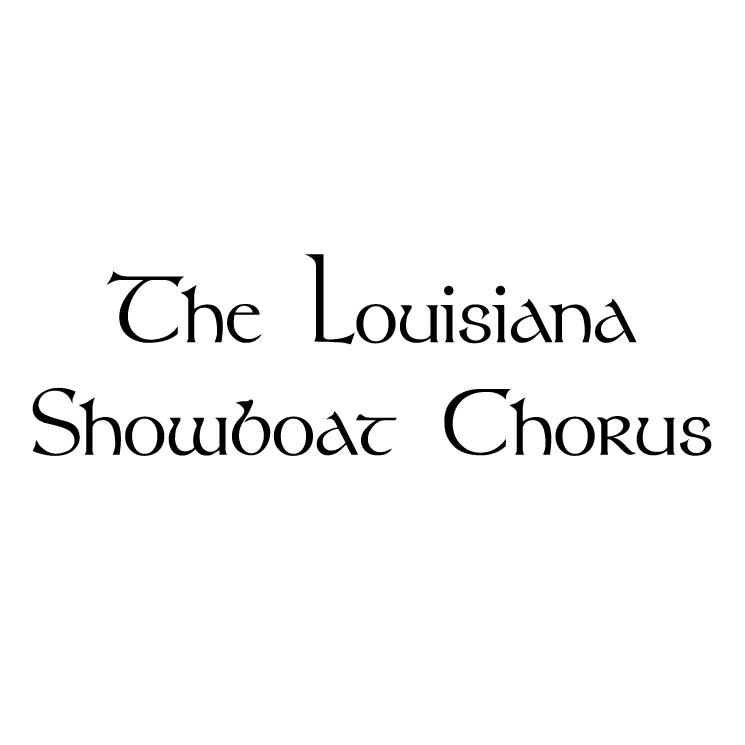 free vector Louisiana showboat chorus