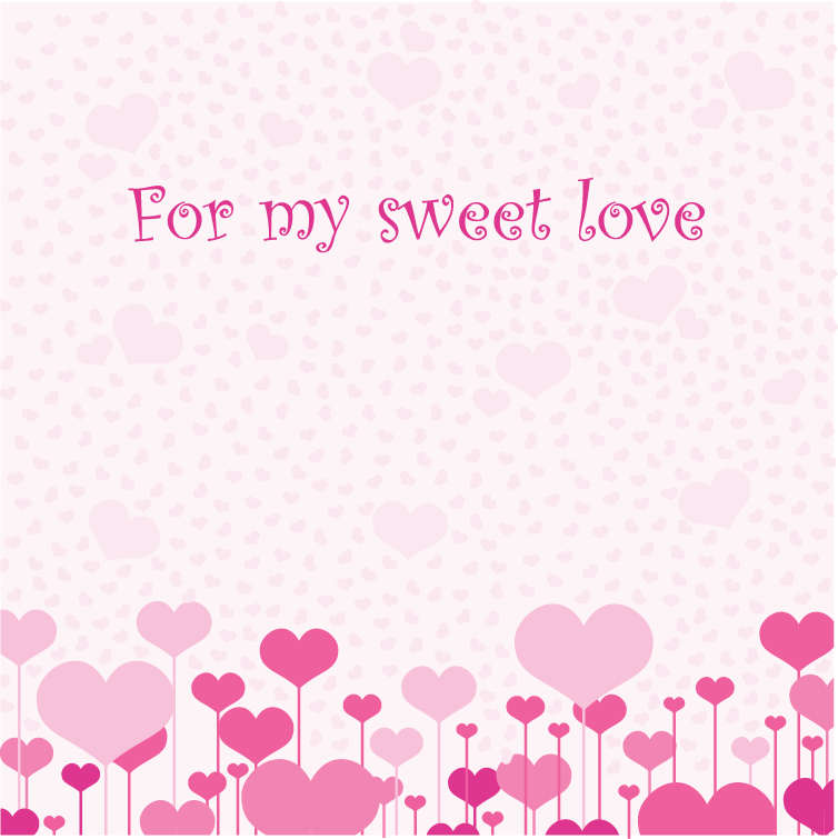 free vector Love Card Vector