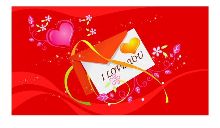 free vector Love element vector