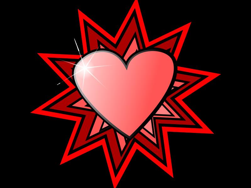 free vector Love Heart