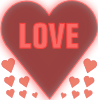 free vector Love In A Heart clip art