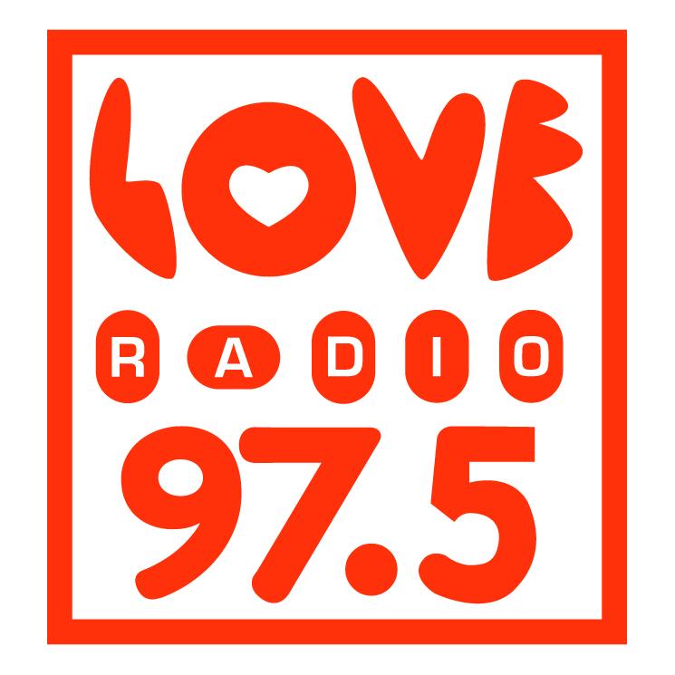 free vector Love radio 0
