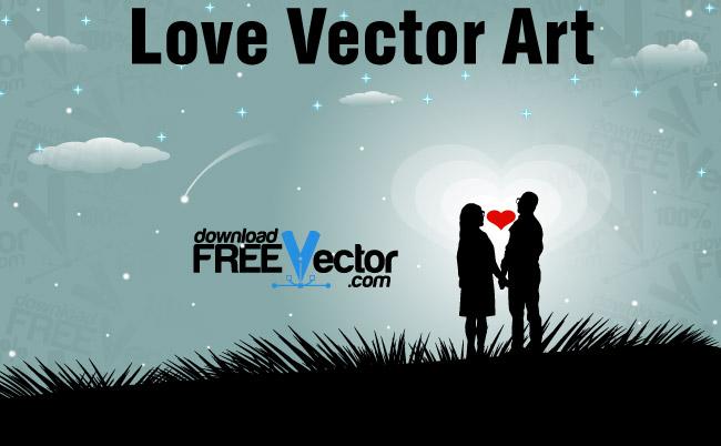 free vector Love Vector Art