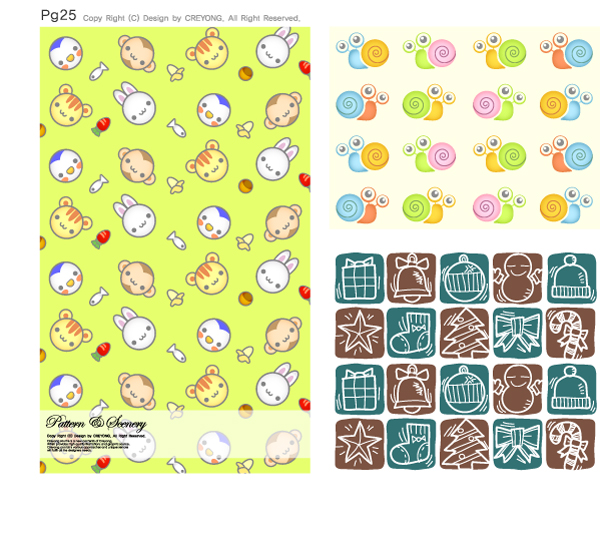free vector Lovely background series vector 11