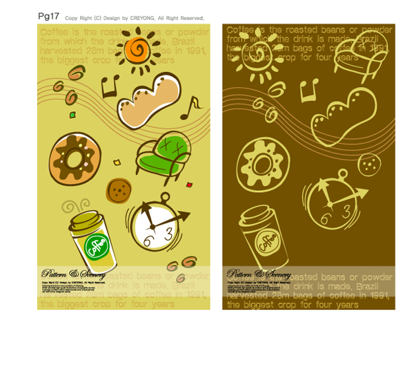 free vector Lovely background series vector 4