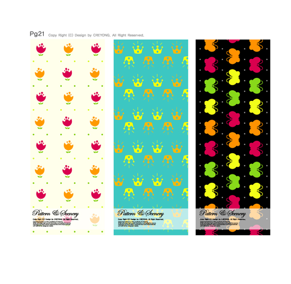 free vector Lovely background series vector 7