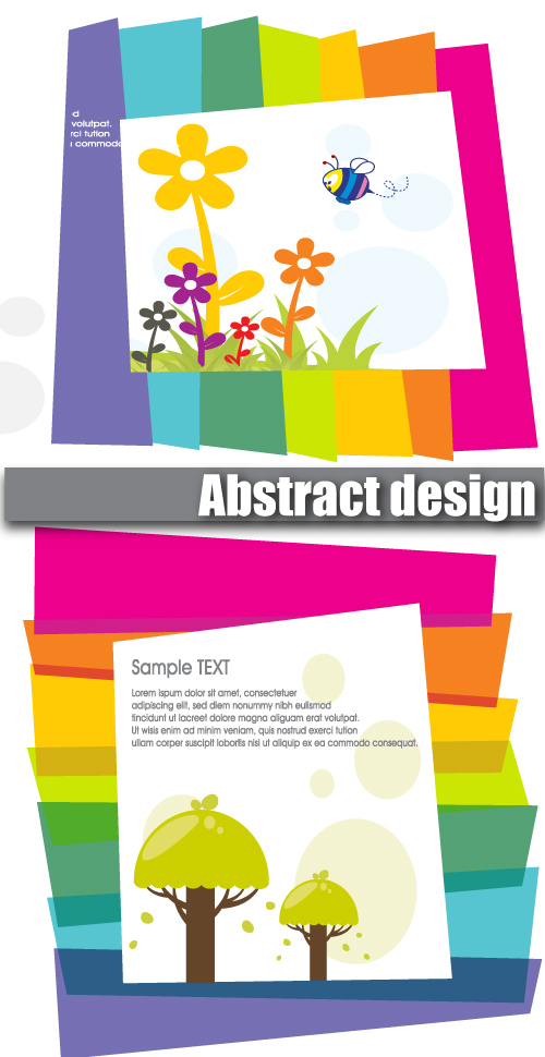 free vector Lovely color vector