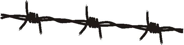 free vector Ltvrdik Barbed Wire clip art