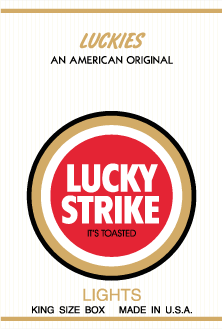 free vector Lucky Strike Lights pack