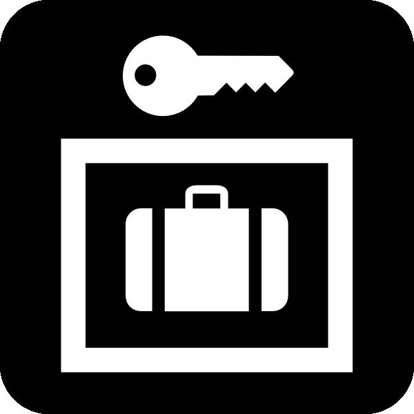 free vector Luggage Storage clip art