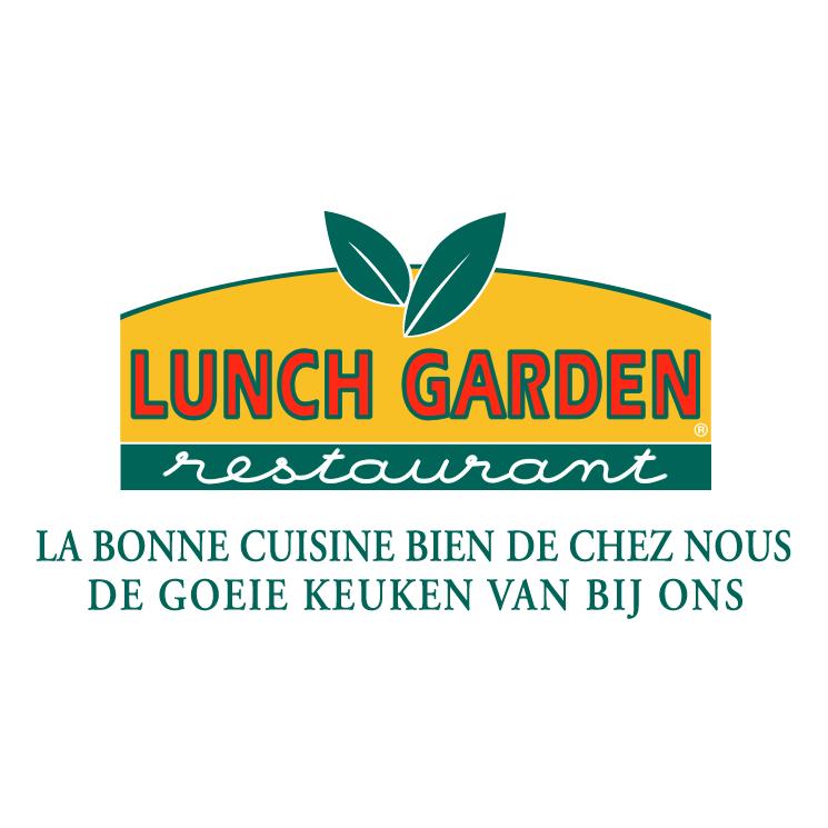 free vector Lunch garden