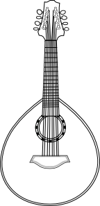 free vector Lute clip art