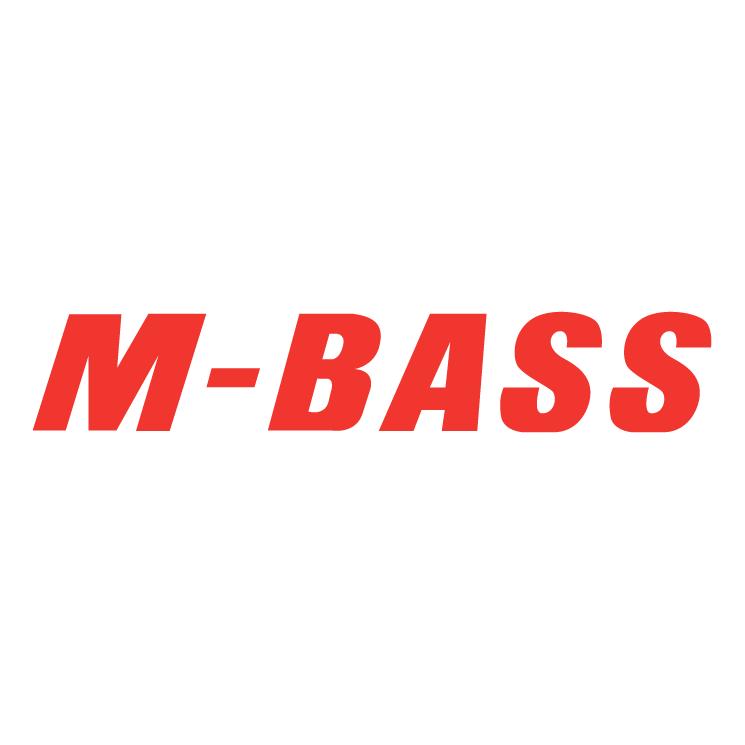 free vector M bass