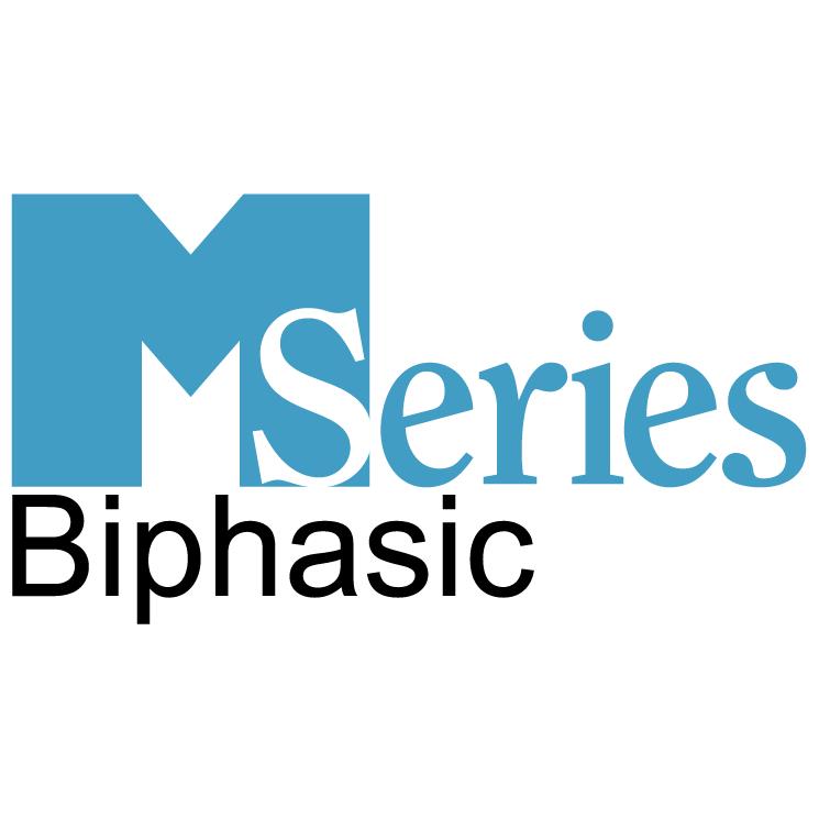 free vector M series biphasic