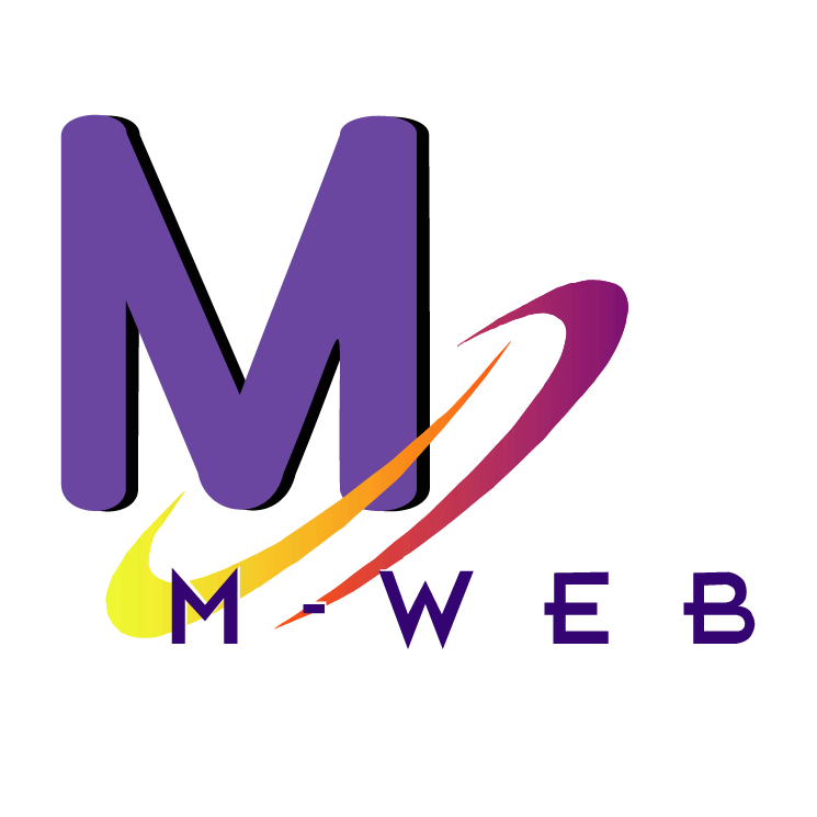 free vector M web