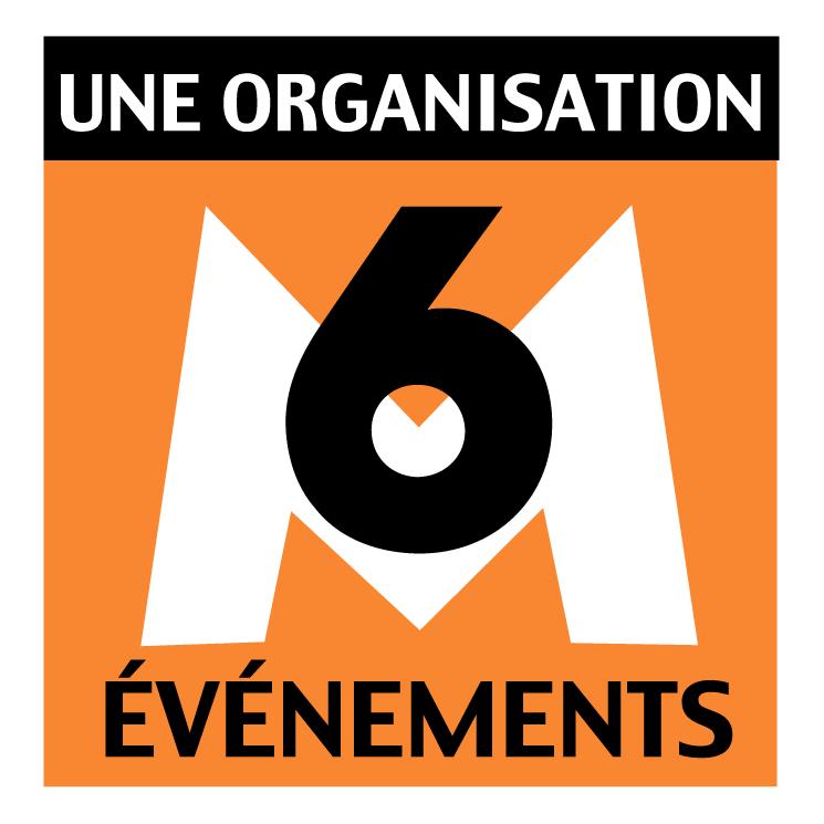 free vector M6 evenements