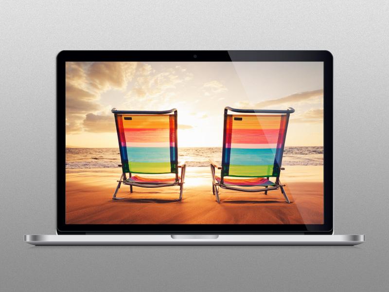 free vector Macbook Pro Vector