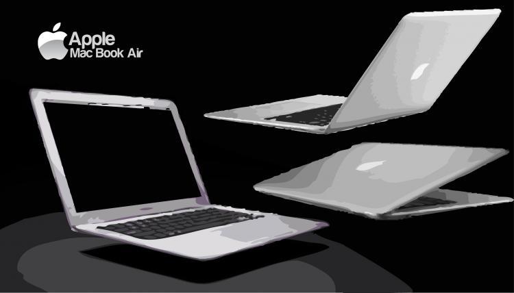 free vector MacBookAir
