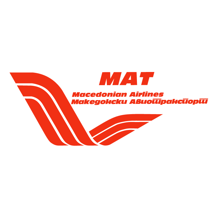 free vector Macedonian airlines