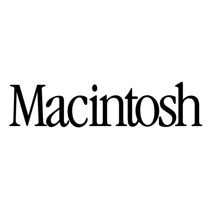 free vector Macintosh 0