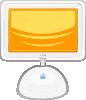 free vector Macintosh Flat Panel clip art