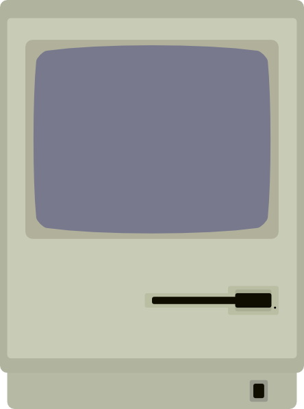 free vector Macintosh Plus clip art