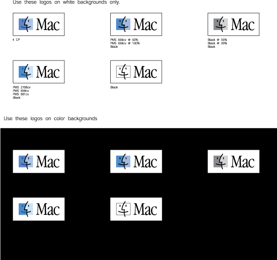 free vector MacOS hr logos guideline