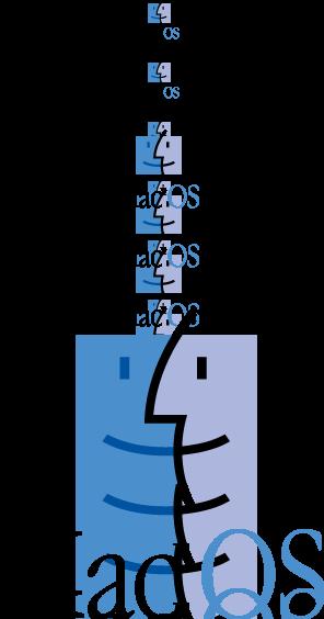 free vector MacOS logo
